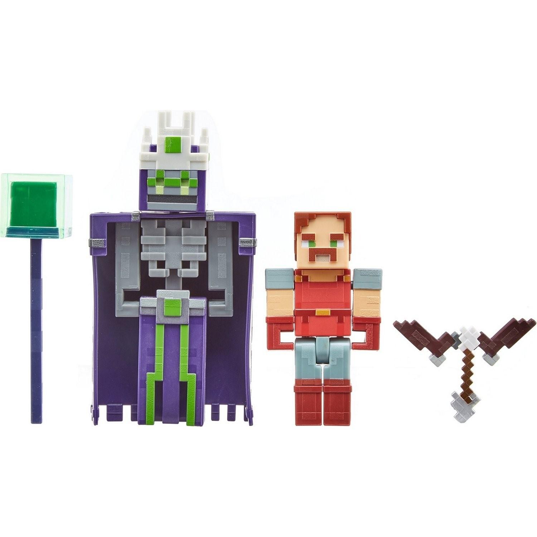 Купить Minecraft® Маленькие фигурки в упаковке 2 шт. - Подземелье GND37/GND39, Mattel,