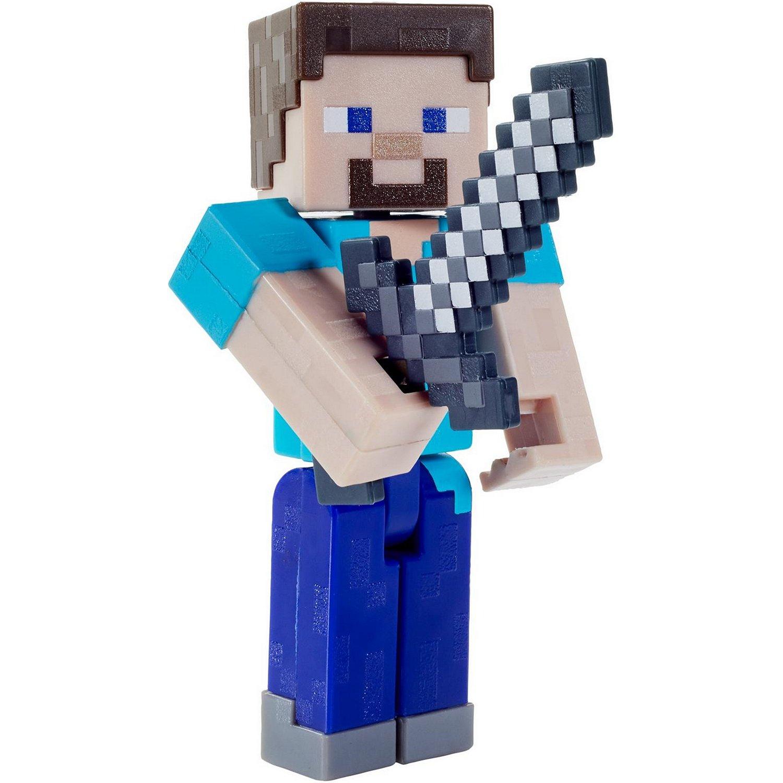 Купить Minecraft® Базовые фигурки в упаковке 2 шт. GTP08/GTP13 Стив, Mattel,