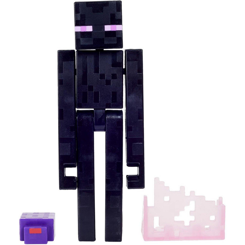 Minecraft® Базовые фигурки в упаковке 2 шт. GTP08/GTP18 Странник края, Mattel,  - купить со скидкой