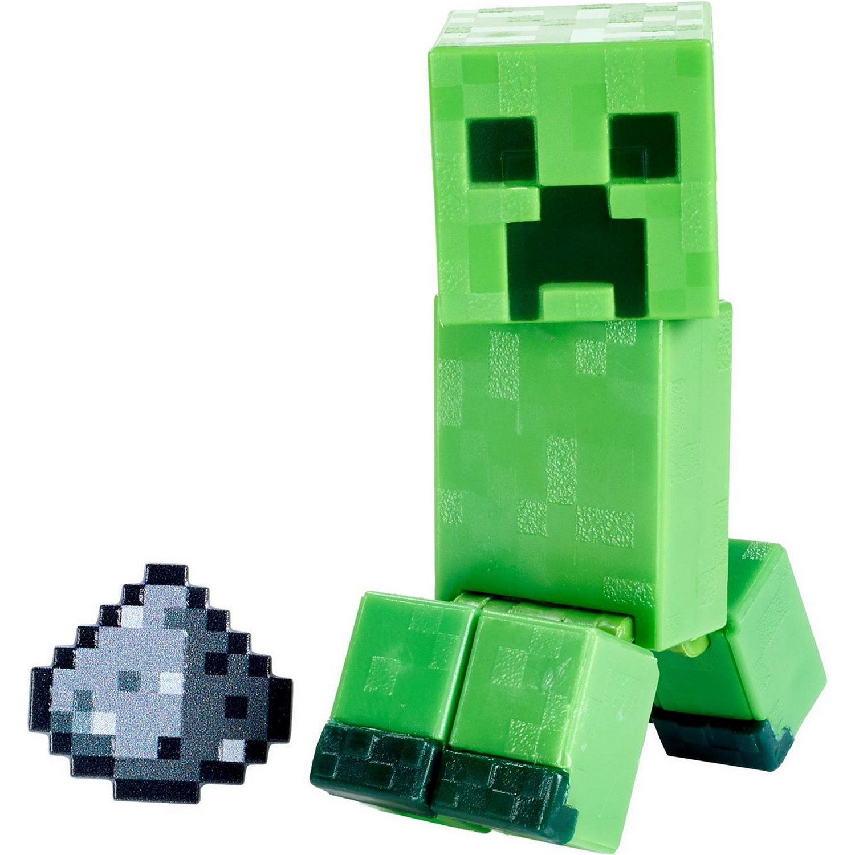 Купить Minecraft® Базовые фигурки в упаковке 2 шт. GTP08/GTT45 Ползун, Mattel,