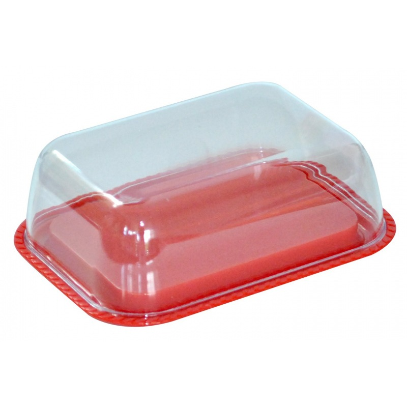 Масленка Plast Team двухсторонняя красный (PT9096КР 16РS)