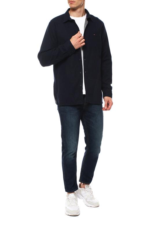 Рубашка мужская Tommy Hilfiger MW0MW10686 синяя S