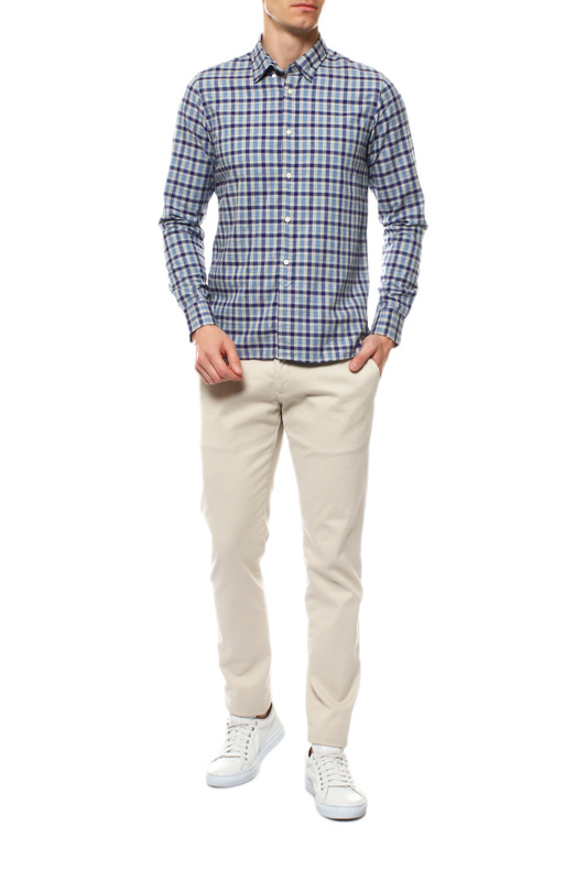 Рубашка мужская Tommy Hilfiger MW0MW11530 синяя M