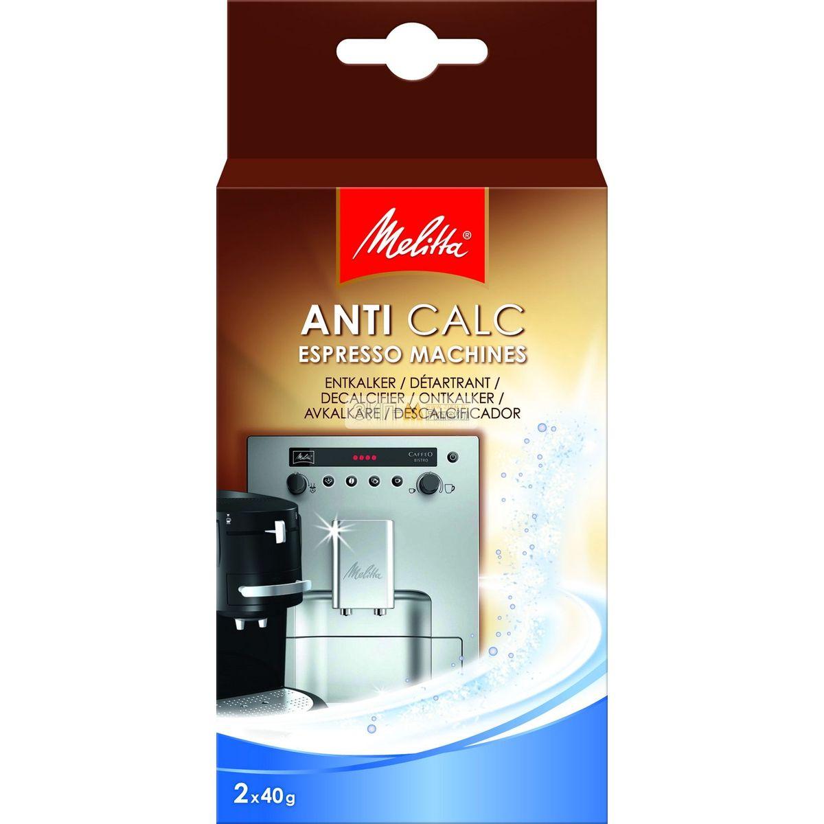 Очиститель от накипи Melitta AntiCalc 2х40г