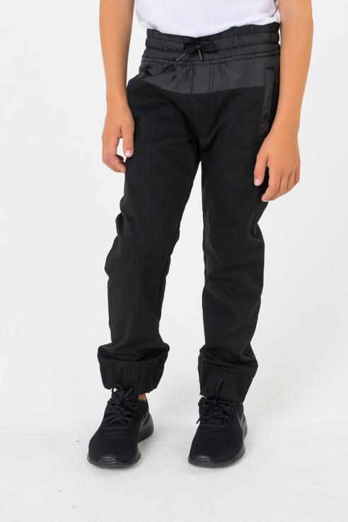 брюки для мальчика DKNY, цв.чeрный, р-р 126