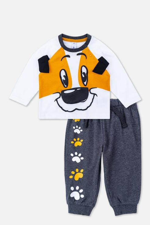 брюки для мальчика PlayToday, цв.мультиколор, р