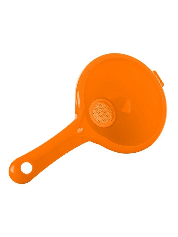Воронка со съемным фильтром Комфорт +, оранжевая
