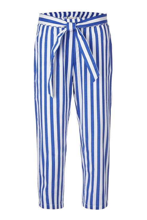 Купить 119BBGC63011005, Брюки для девочки Button Blue, цв.синий, р-р 128,