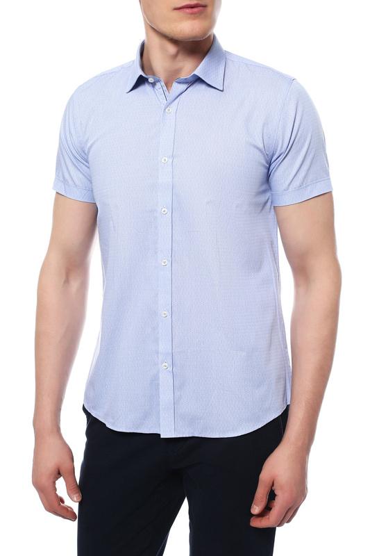 Рубашка мужская MONDIGO 426331 голубая S