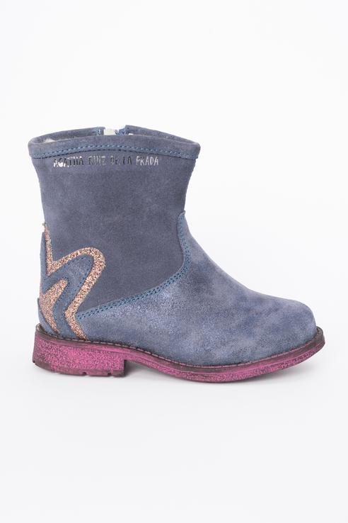 Ботинки детские Agatha Ruiz De La Prada цв.голубой р.35.