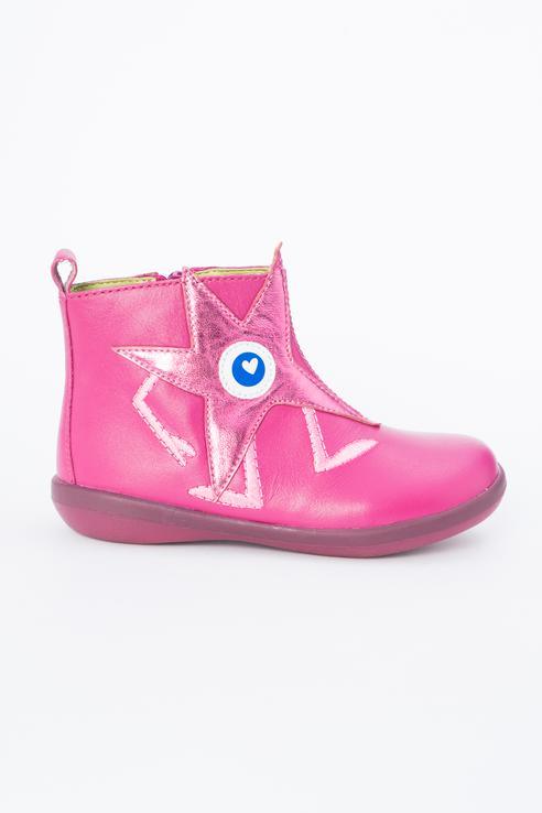 Ботинки детские Agatha Ruiz De La Prada цв.розовый р.33.