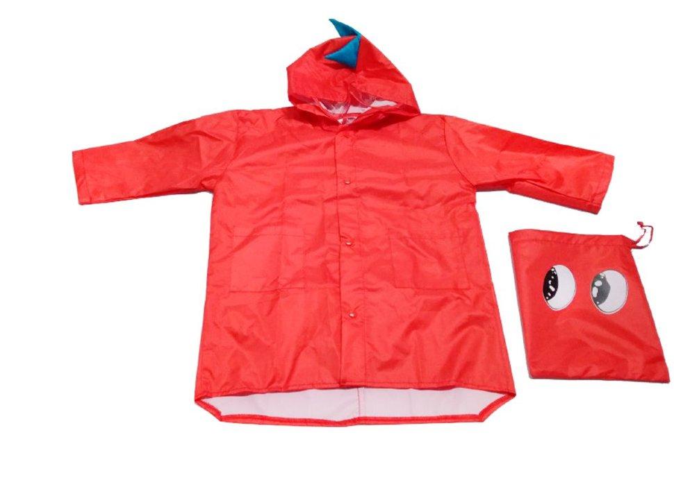 Дождевик Bradex ДРАКОН красный, размер XL