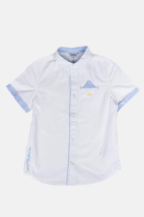 Купить AZP2159B2_белый, Рубашка Original Marines AZP2159B2 цв.белый р.140,