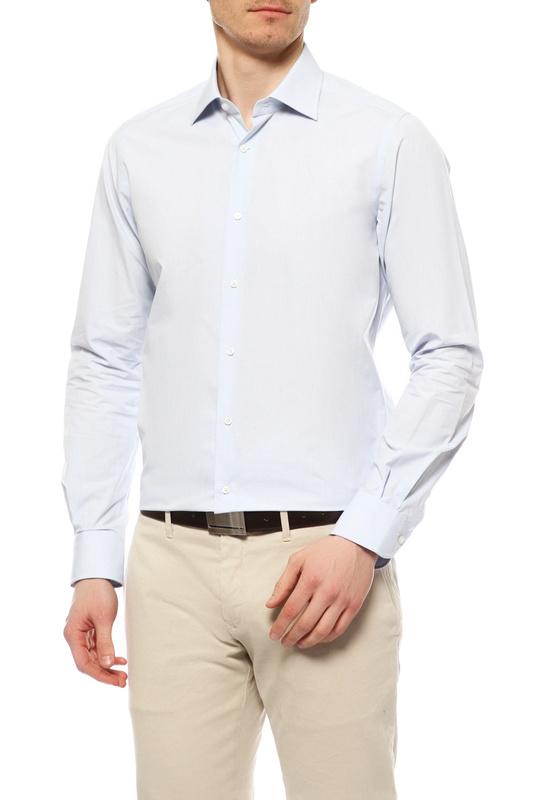 Рубашка мужская WINDSOR 10002649 451 45 30004347 голубая 45 DE