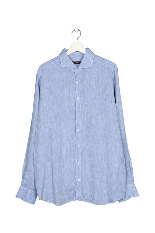 Рубашка мужская WINDSOR 10002674 425 43 30004369 голубая 43 DE