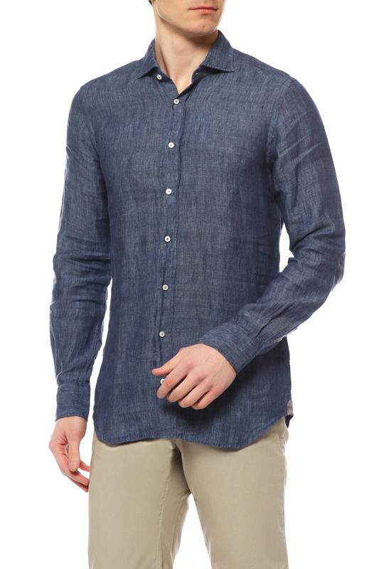 Рубашка мужская WINDSOR 10002677 401 39 30004372 синяя 39 DE
