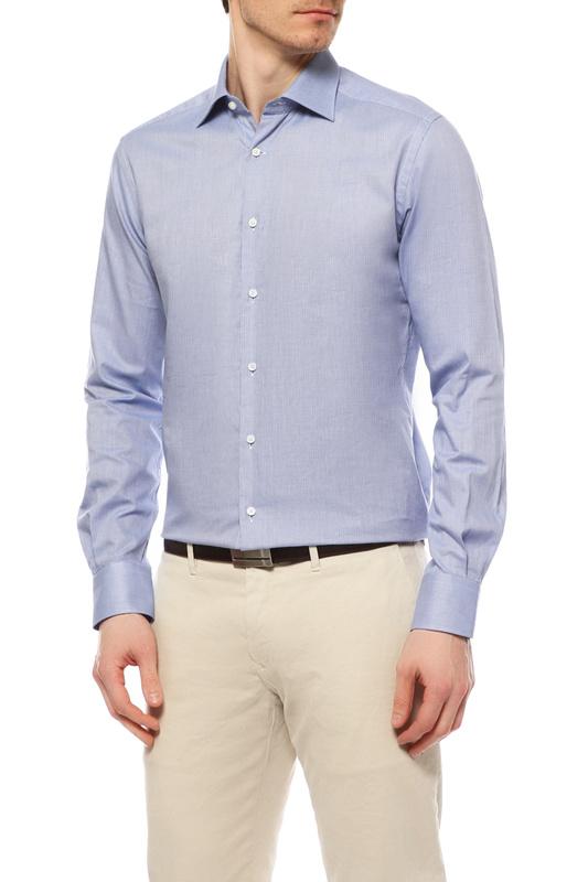 Рубашка мужская WINDSOR 1301912 425 45 13009110 голубая 45 DE