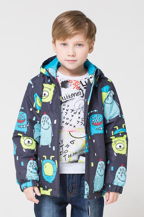 Купить Куртка Crockid ВК 30081/н/2 ГР цв.серый р.104, Куртки для мальчиков