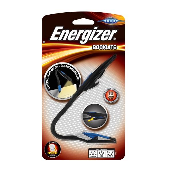 Фонарь Energizer Booklite черный/синий (E300477600)