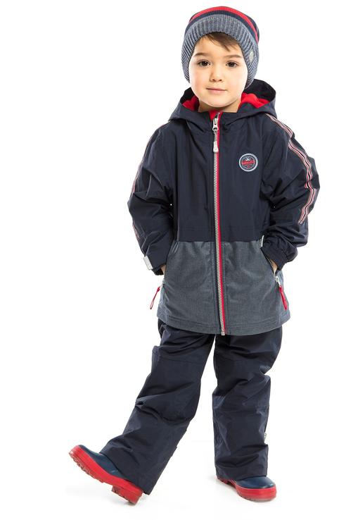 Купить Куртка и брюки NaNo S 20 M 281 цв.синий р.104, Комплекты верхней одежды для мальчиков