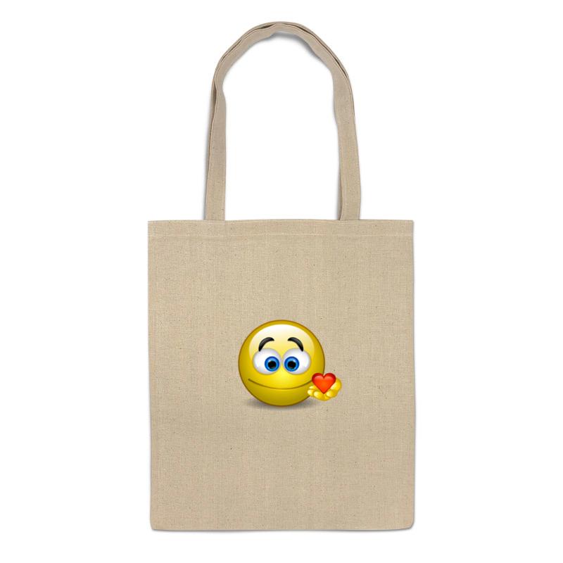 "Сумка-шоппер Printio ""smiley"""