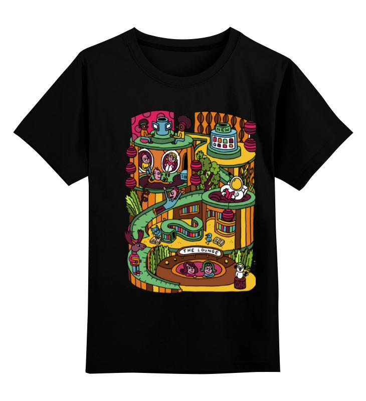 Купить 0000000670943, Детская футболка классическая Printio Let's fun, р. 128,