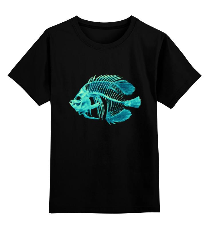 Детская футболка классическая Printio Скелетон, р. 128 0000000671003