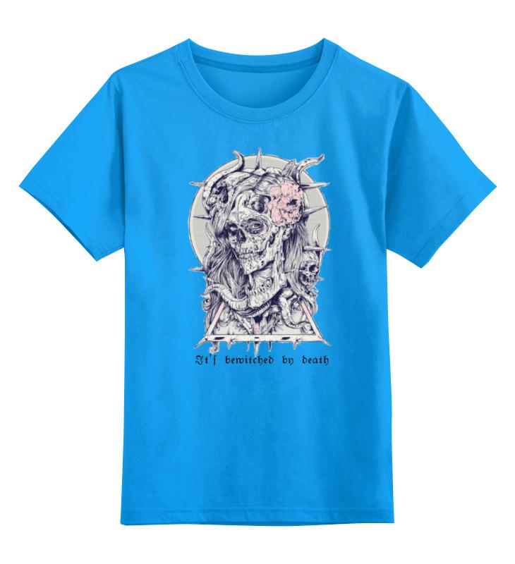 Детская футболка классическая Printio Околдована смертью, р. 116 0000000670242