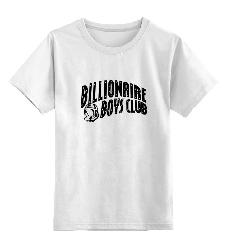 Купить 0000000670712, Детская футболка классическая Printio Billionare, р. 164,