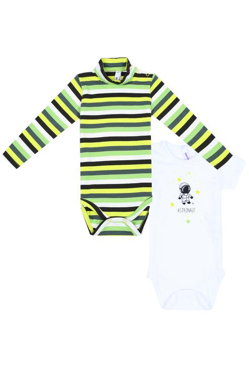 Боди для мальчика PlayToday, цв.зеленый, р
