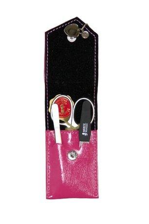Купить Маникюрный набор, Mertz Manicure 3 пр., футляр кожаный, розовый A3111RF Mertz Manicure, 3 пр.