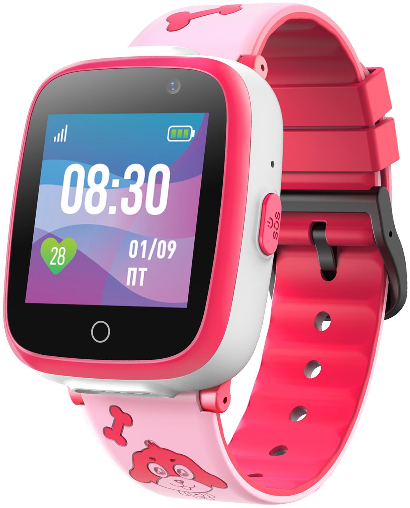 Детские смарт часы Jet Kid Buddy Pink/Pink