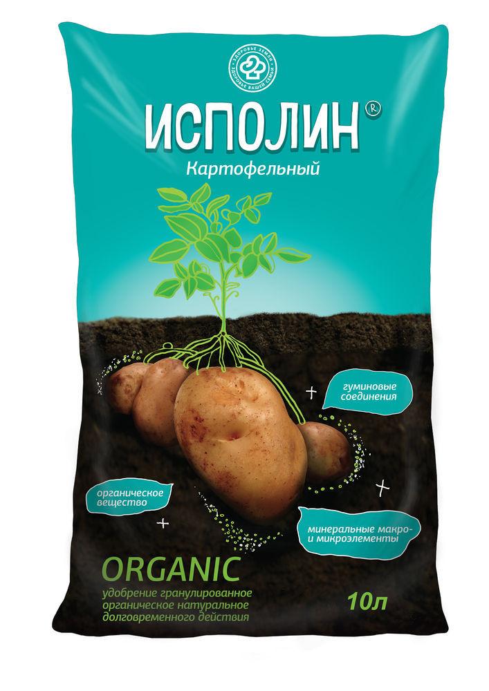 Органоминеральное удобрение Фарт Исполин картофельный 10 л.