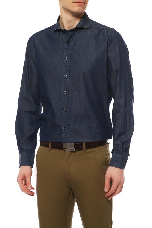 Рубашка мужская OLYMP 4079/64/15 синяя 41 DE