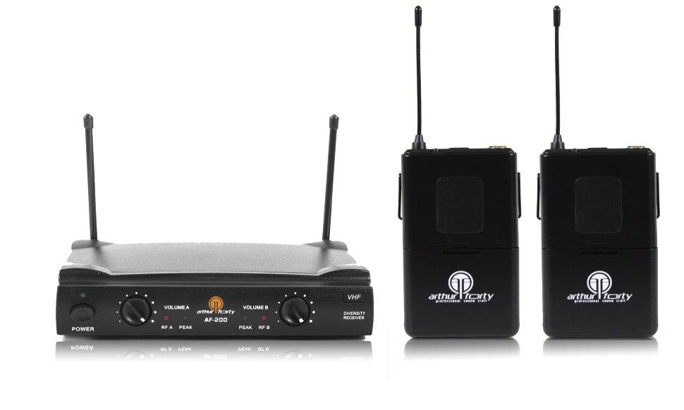 Вокальная радиосистема с двумя головными гарнитурами Arthur