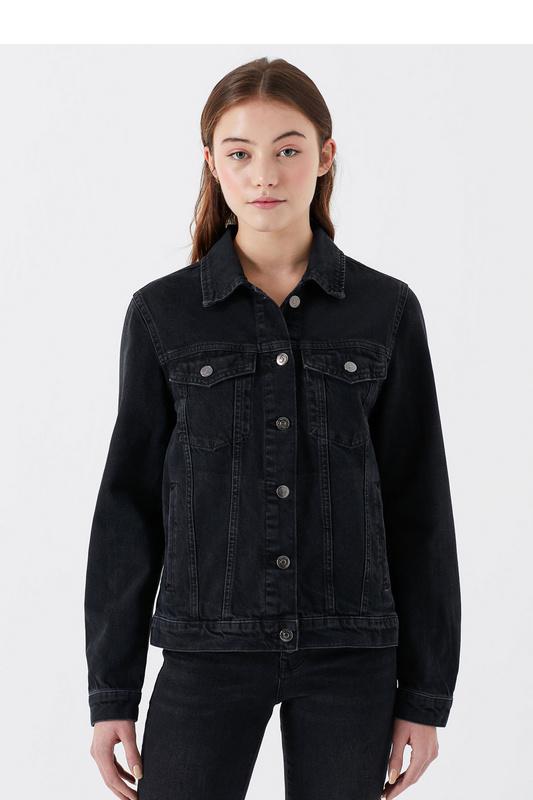 Джинсовая куртка женская Mavi 110544 серая M