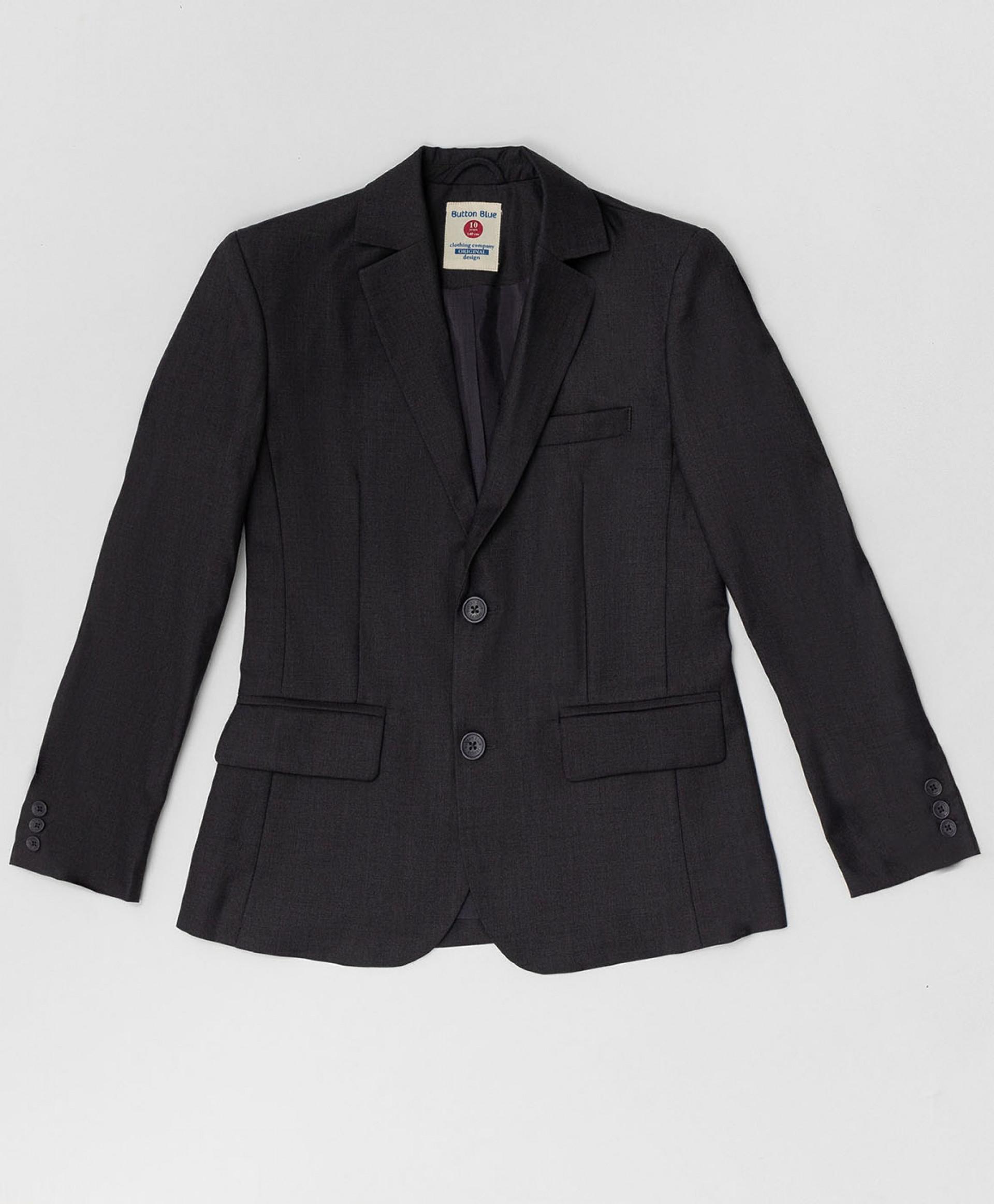 Серый пиджак BUTTON BLUE 220BBBS48010100, размер 134,  - купить со скидкой