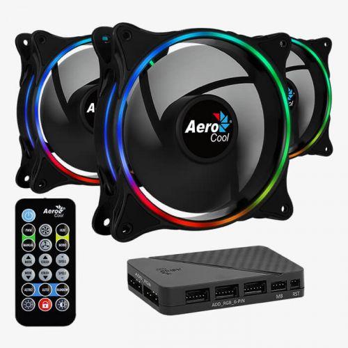 Корпусной вентилятор AeroCool Eclipse 12 Pro