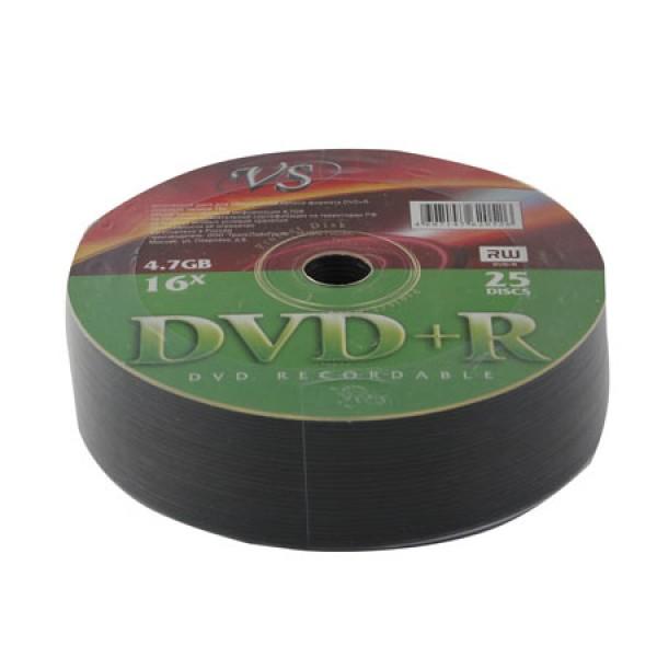 Диск VS DVD+R 4.7 Gb 25 шт