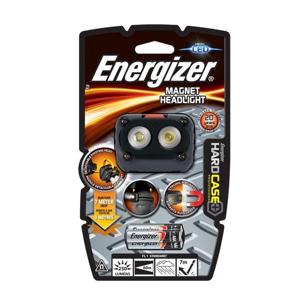Фонарь Energizer Hard Case Pro Magnet черный (639826)