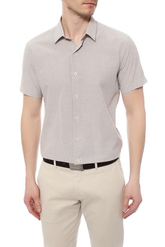 Сорочка мужская Van Cliff 14478 бежевая S