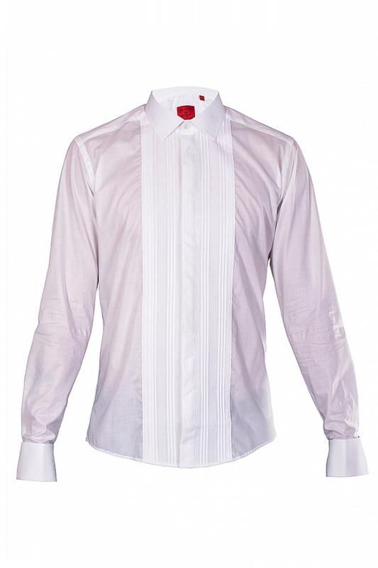 Рубашка мужская SAND 73254 белая 40 EU