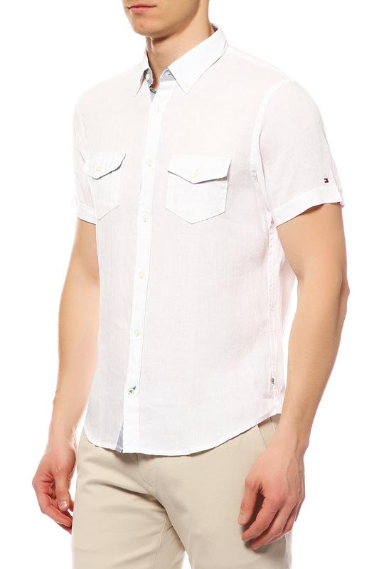 Рубашка мужская TOMMY HILFIGER .0857828233 100 белая S