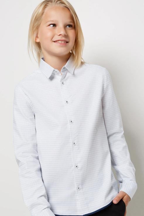 Рубашка Acoola 20140280064/ цв.белый р.146