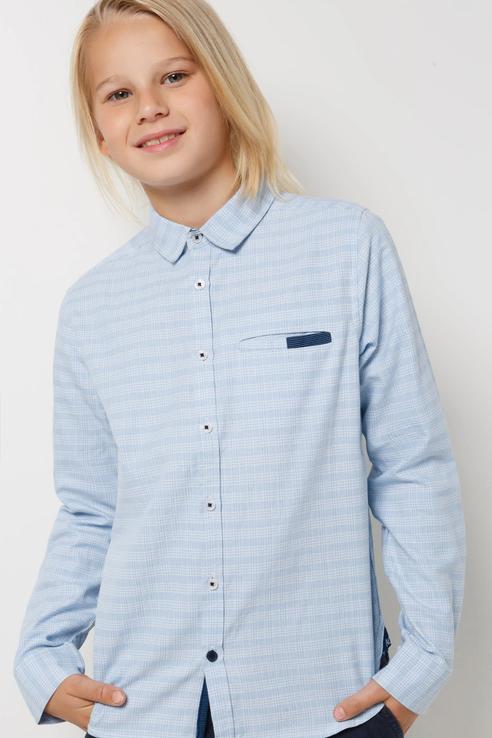 Рубашка Acoola 20140280065/ цв.голубой р.122