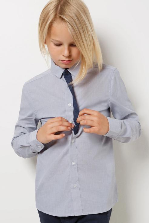 Рубашка Acoola 20140280066/ цв.серый р.122