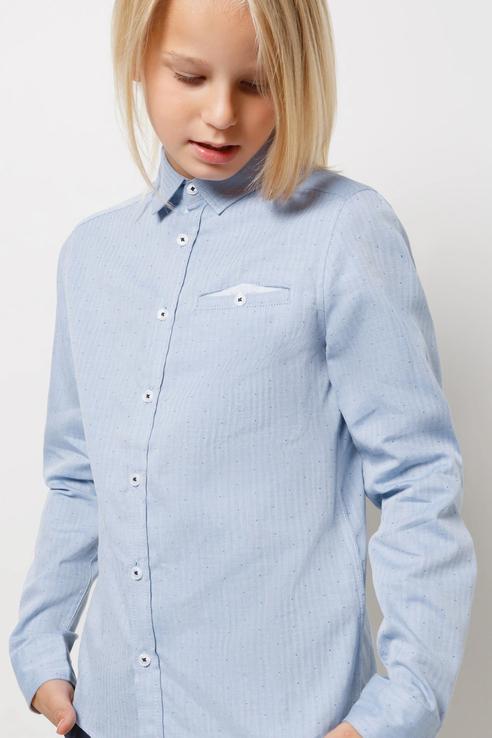 Рубашка Acoola 20140280067/ цв.синий р.122