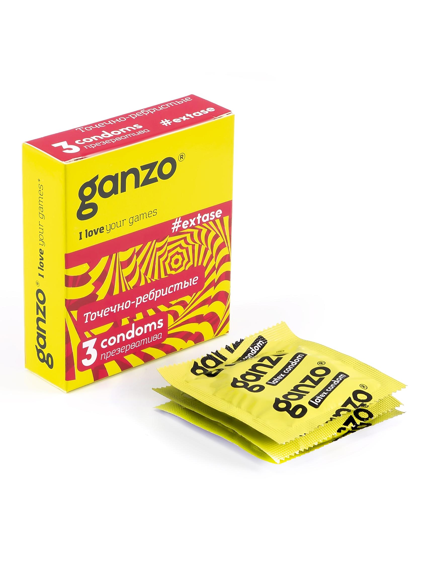 Купить Презервативы Ganzo Extase 3 шт.