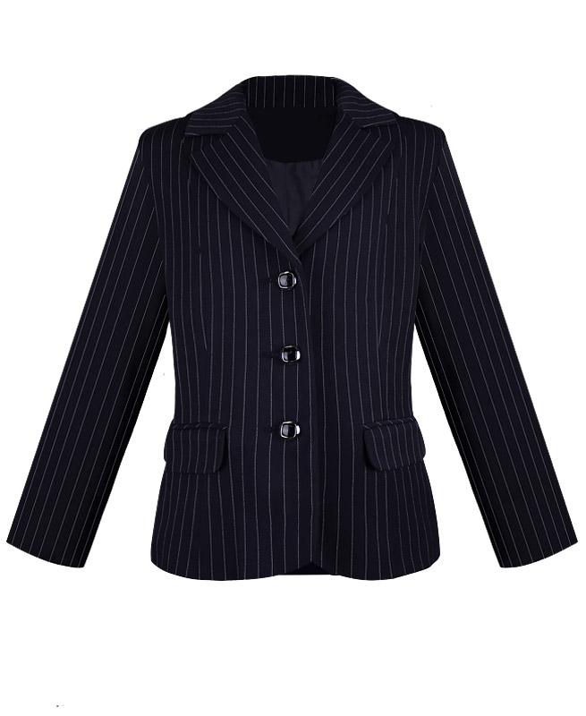 Пиджак для девочки Радуга Дети цв. синий 18972-ПСДШ16, размер 116