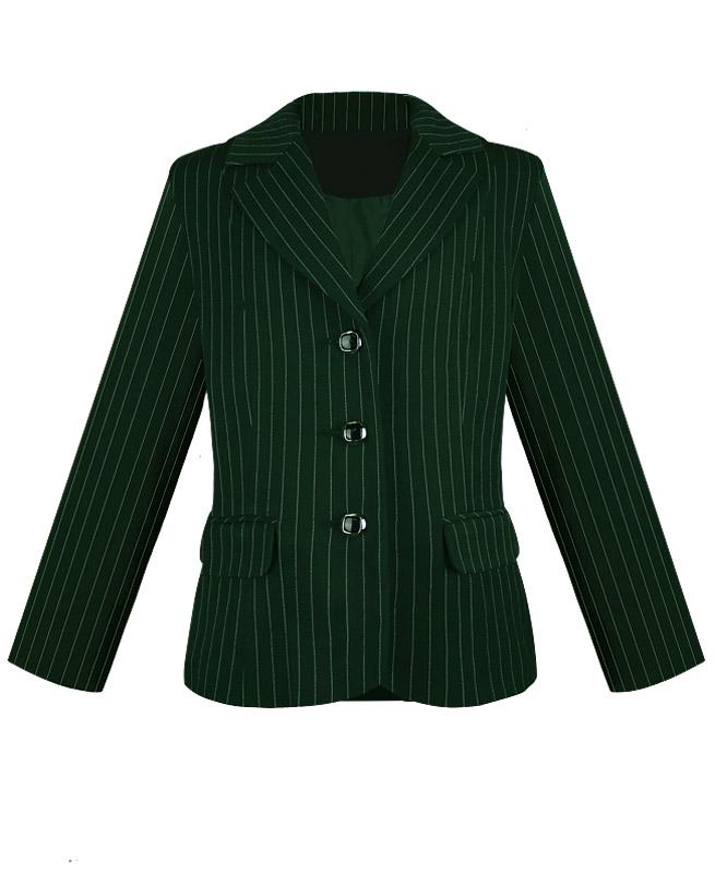 Пиджак для девочки Радуга Дети цв. зеленый18976-ПСДШ15, размер 128